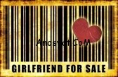 4276413-girlfriend-for-sale-on-abstract-art-background